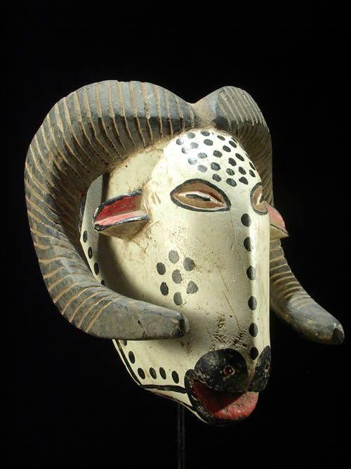 Masque zoomorphe belier - Bozo - Mali - Masques du Mali