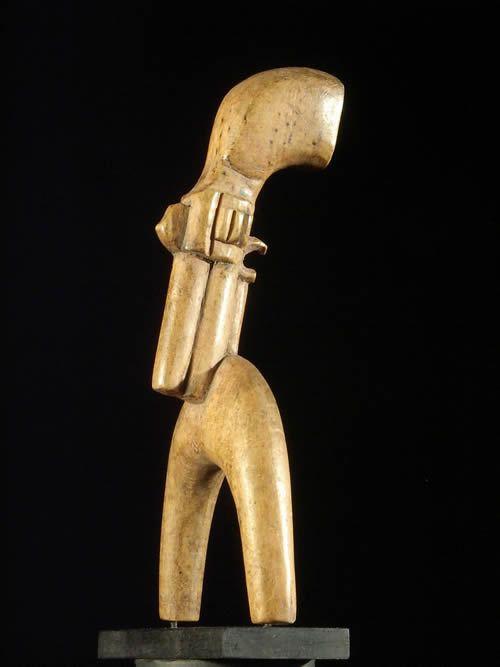 Lance pierres pistolet - Baoule - Côte d'Ivoire - Armes africaines