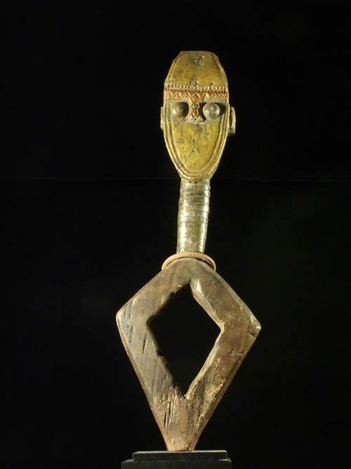 Reliquaire Bwiti - Kota / Shamaye - Gabon - Reliquaires cuivre