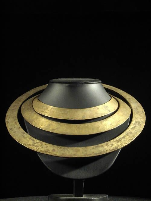 Collier de circoncis - Lotuko - Soudan - Bronze