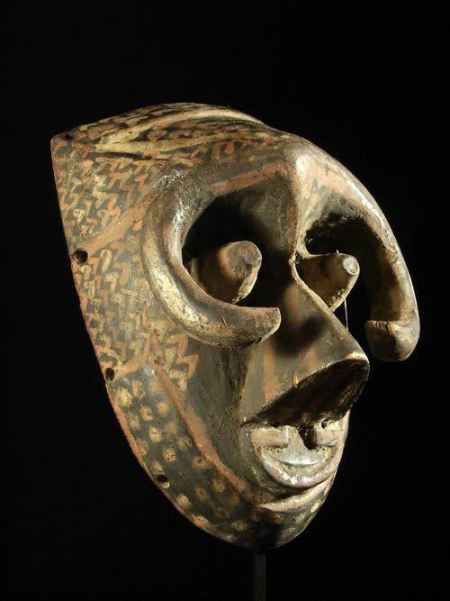 Masque Pwoom Itok - Kuba / Ngeende - RDC Zaire - Masques
