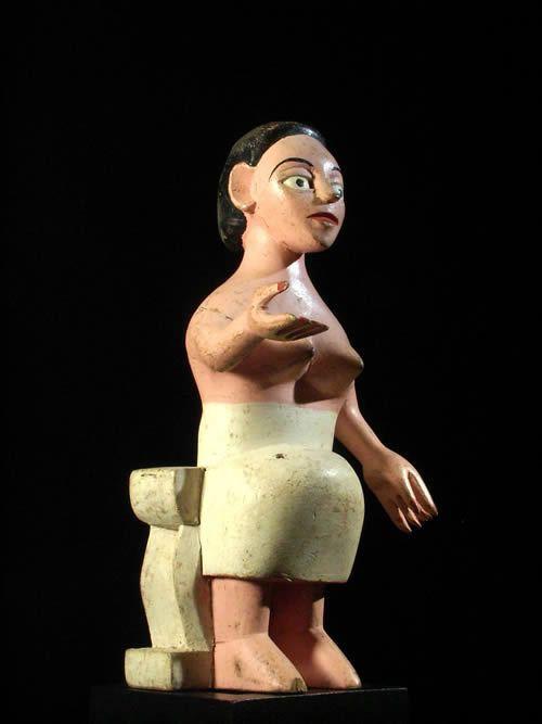 Statuette Vaudou Mami Wata Kossi Agbagli - Ewe - Benin - Culte Vaudou