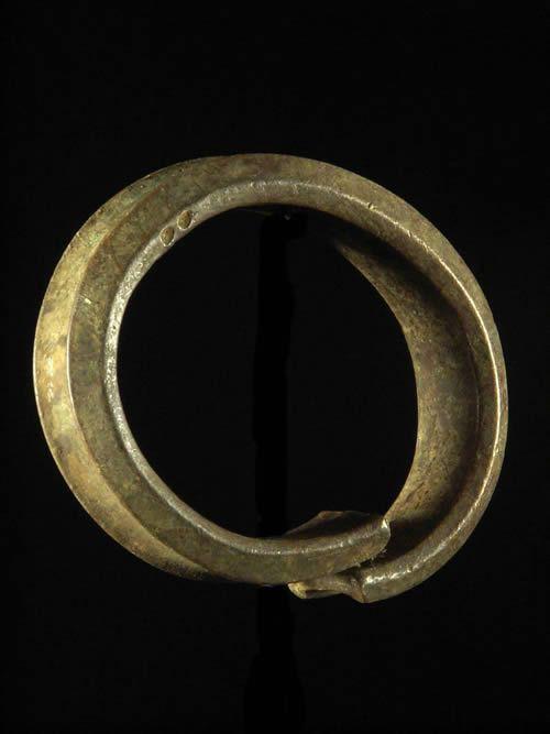 Bracelet en alliage de laiton - Fang - Gabon - Monnaie