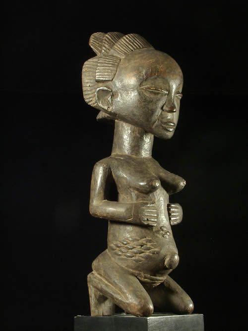 Statuette de fertilite - Luba Shankadi - RDC Zaire