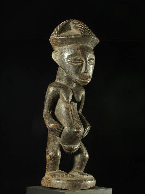 Statuette d'autel - Kusu - RDC Zaire