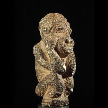 Statuette en pierre Pomdo -...