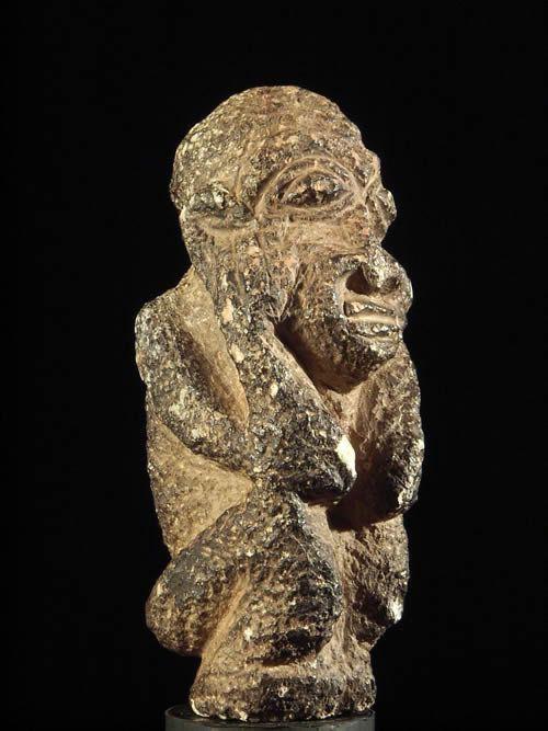 Statuette en pierre Pomdo - Kissi - Guinee