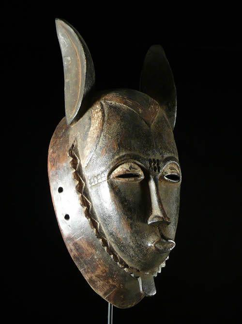 Masque Anoman - Yaoure - Cote Iivoire - Masques d'afrique