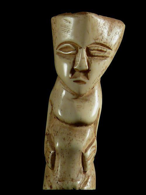 Figurine en os - Lega - RDC Zaire - Sculptures en os