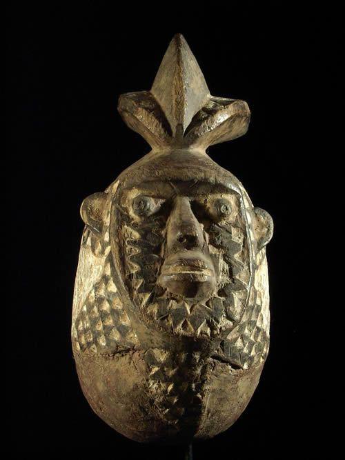Masque ancien Anthropomorphe - Mossi - Burkina Faso