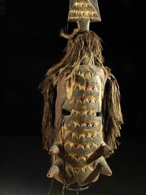 Masque lame phacochere - Kurumba Mossi - Burkina faso
