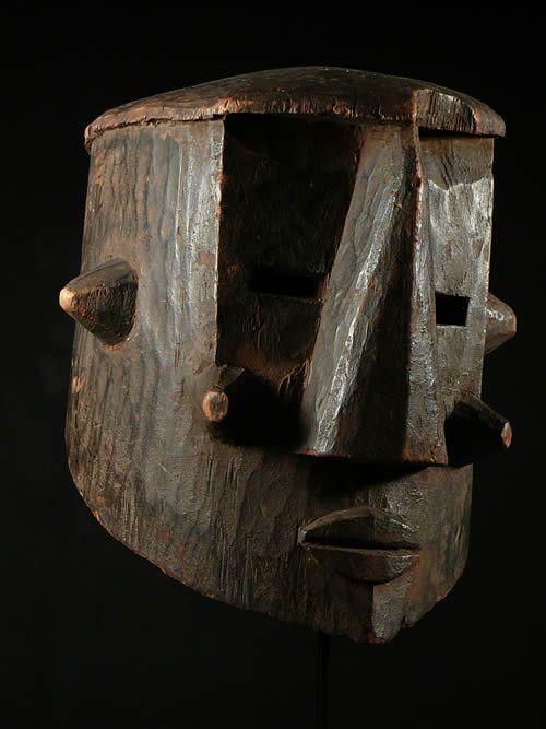 Masque Casque - Kuba / Binji - RDC Zaire - Masques africains