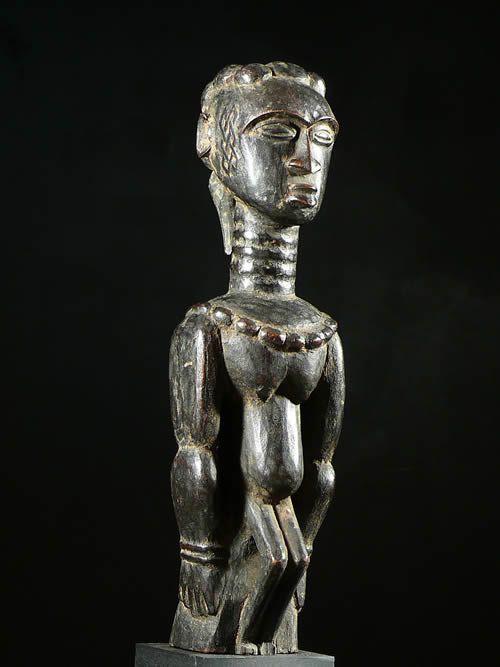 Statue Cultuelle Itoch - Kuba Bakuba - RDC Zaire - Statue africa