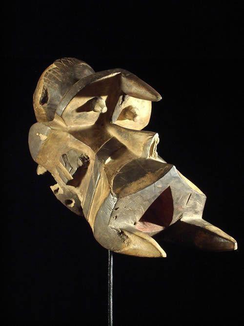 Masque Elephant Ogbodo Enyi - Igbo - Nigeria - Masques africains
