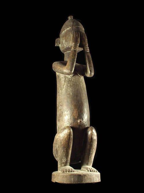 Statue Nommo Dyougou Serou - Dogon - Mali - Statues Africaines