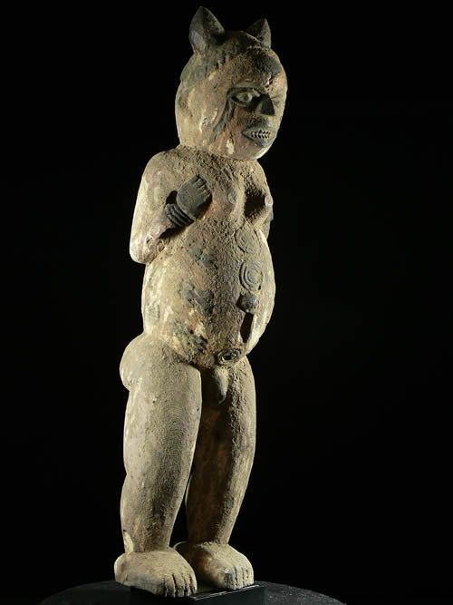 Statue Cultuelle Ottote - Kuyu / Kouyou - Kuyu - Congo Brazzaville