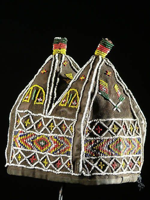 Coiffe Royale - Bamoun - Cameroun - Coiffes africaines