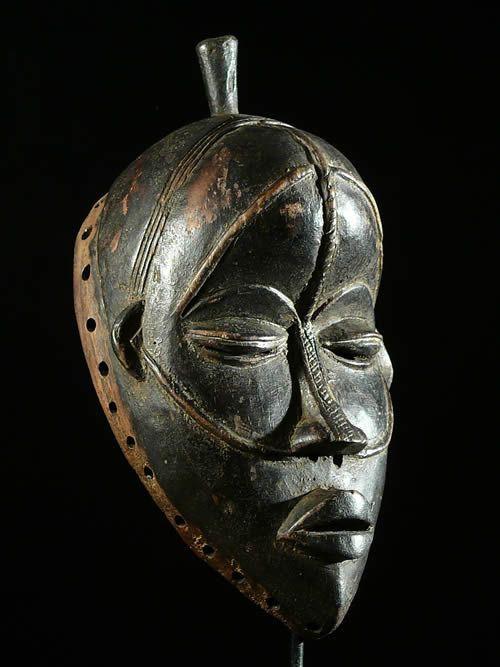 Masque ancien - Dan /Yacouba - Liberia - Masques africains