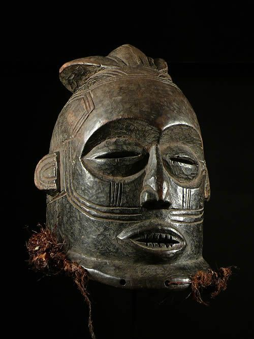 Masque casque Initiatique - Kuba / Bakuba - RDC Zaire