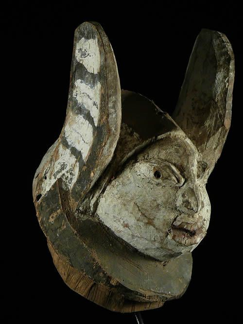 Masque Gelede - Yoruba - Nigeria - Culte Gelede