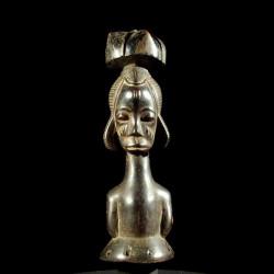 Statuette cimier - Baoule -...