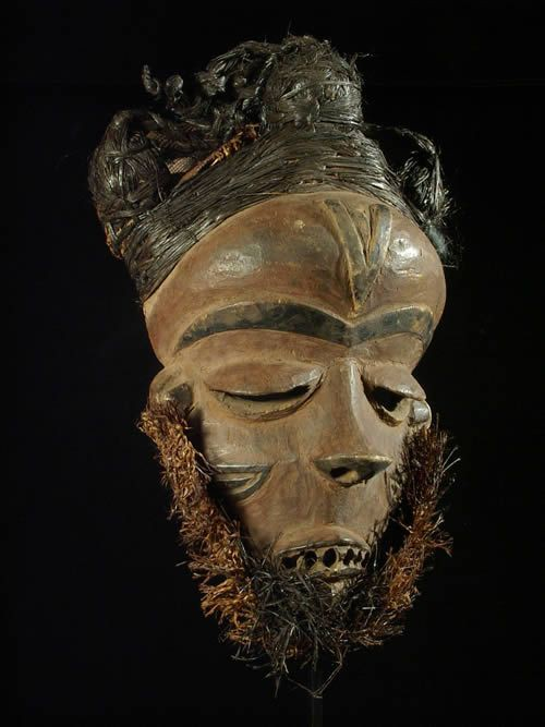 Masque Mbuya - Pende - RDC Zaire - Masques africains