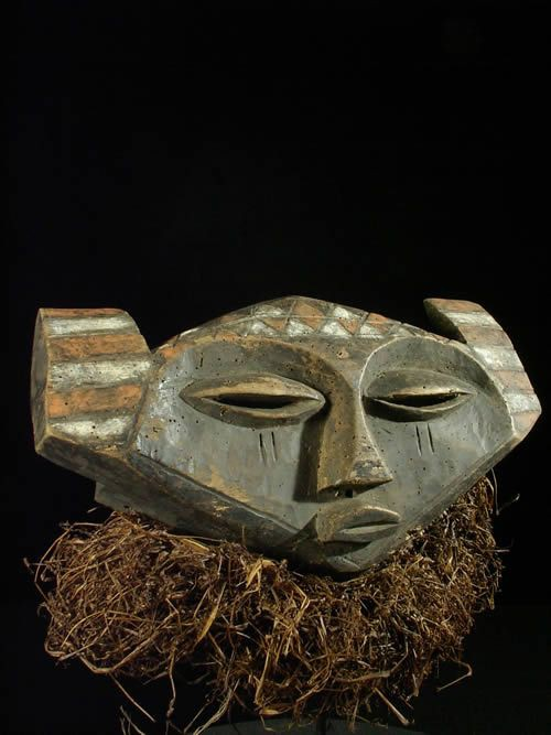 Masque Panya Yombe - Pende - RDC Zaire - Masques africains