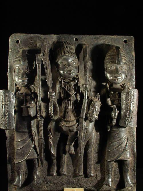 Plaques de palais - Nigeria - BIni Edo - Bronze cire perdue