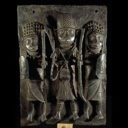 Plaques de palais - Nigeria...