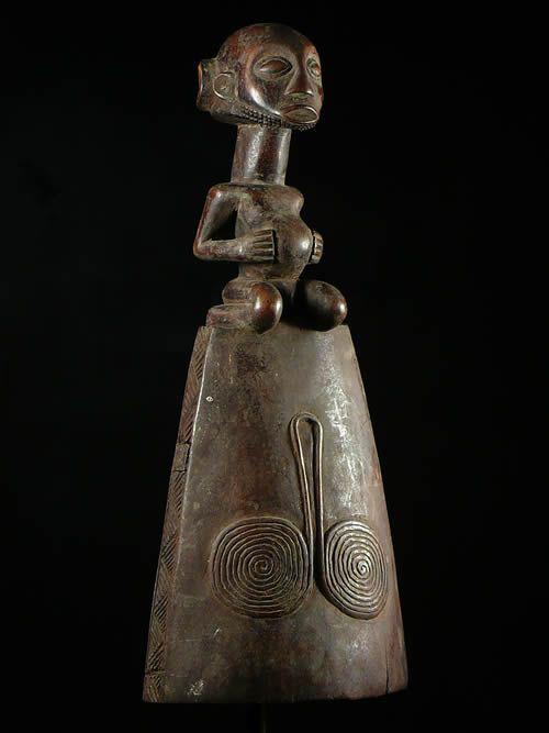 Cloche Rituelle - Luba - RDC Zaire - Instruments de musique