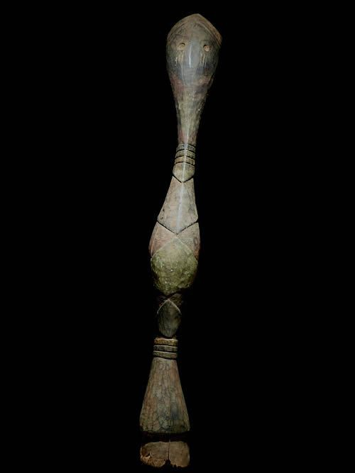 Cimier Serpent Bansonyi - Ethnie Baga - Guinee - Afrique