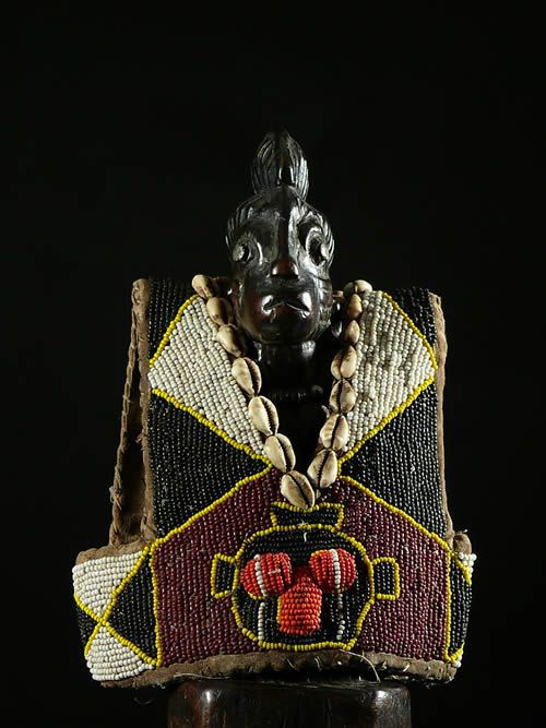 Brassiere de jumeau Ibeji en perles - Yoruba - Nigeria