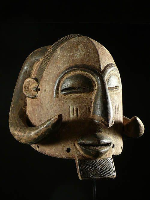 Masque casque Bachabiem - Luba / Shaba - RDC Zaire