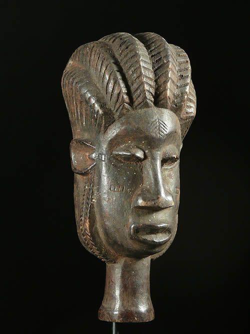Masque a poignee - Lulua - RDC Zaire