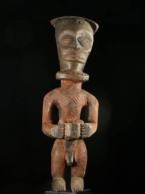 Statue Cultuelle - Chokwe - Angola