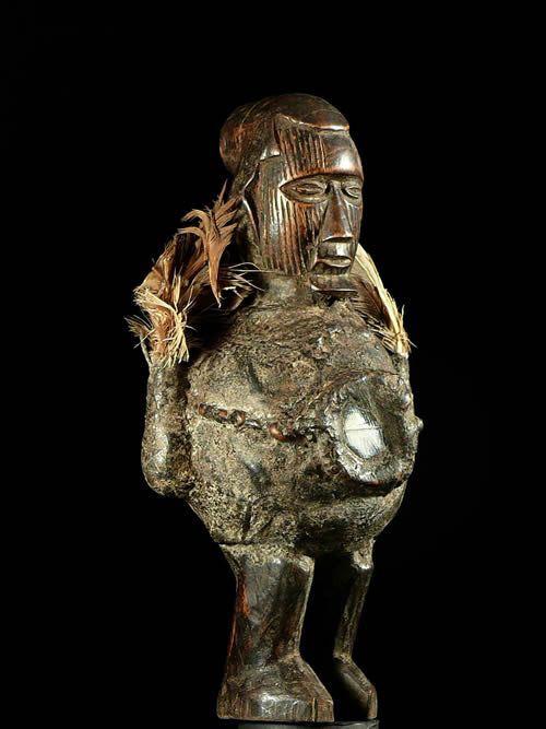 Statue Nkira Ntswo - Teke - RDC Zaire / Congo