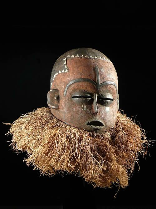 Masque rituel - Pende - RDC Zaire - Masques africains