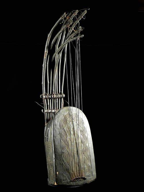 Pluriac Lakweemy - Kuba Shoowa - RDC Zaire - Cordophones