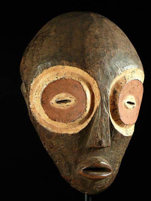 Masque Amba - Bembe - RDC Zaire - Masques africains