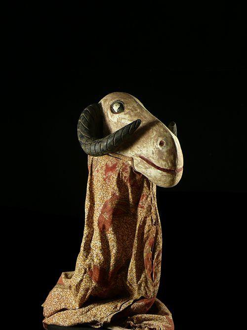 Marionnette Maaniw Belier - Bozo / Bambara - Mali - Marionnettes