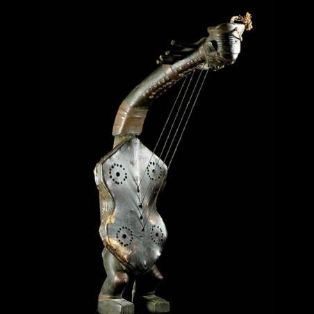 Harpe Arquee - Mangbetu -...