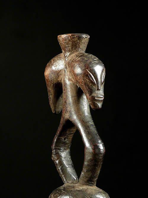 Statue janus - Toposa / Topoke - RDC Zaire / Congo - Circoncisio
