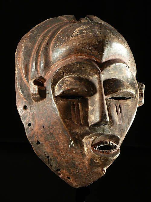 Masque de Circoncision - Mukanda - Kwese - RDC Zaire / Angola