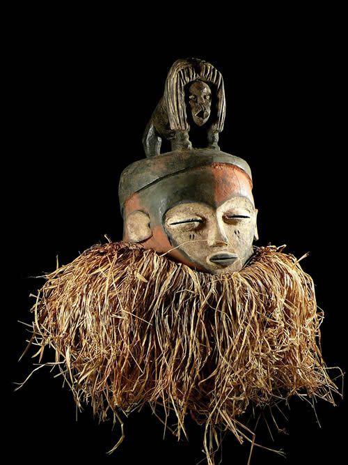 Masque initiatique - Kwese - RDC Zaire