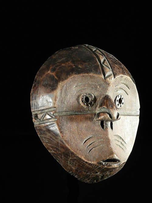 Masque Initiation Lilwa - Mbole - RDC Zaire - Masques africains
