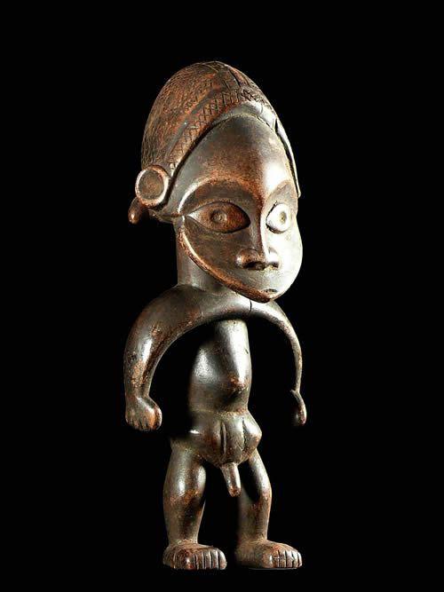 Statue Cultuelle style Yambio - Zande / Azande- RDC Zaire / Congo