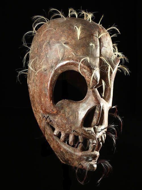 Masque rituel - Himachal - Tibet - Himalaya - Arts primitifs