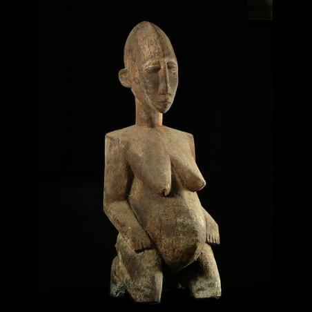 Statue feminite - Lobi -...