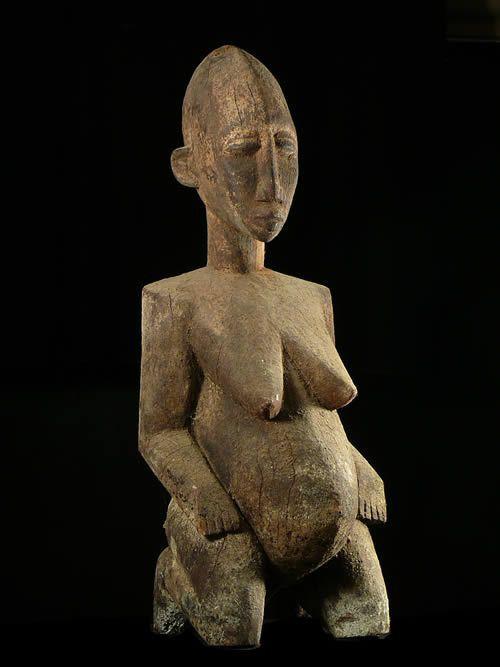 Statue feminite - Lobi - Burkina Faso