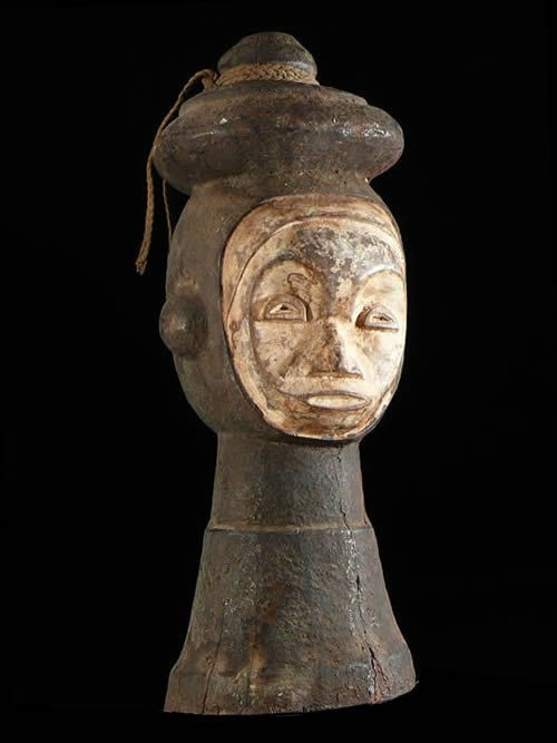 Masque cimier Ungulali - Idoma - Nigeria